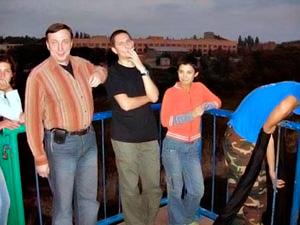 Юля Зайцева з друзями