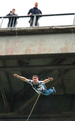 Роупджампинг стрибок в Житомирі